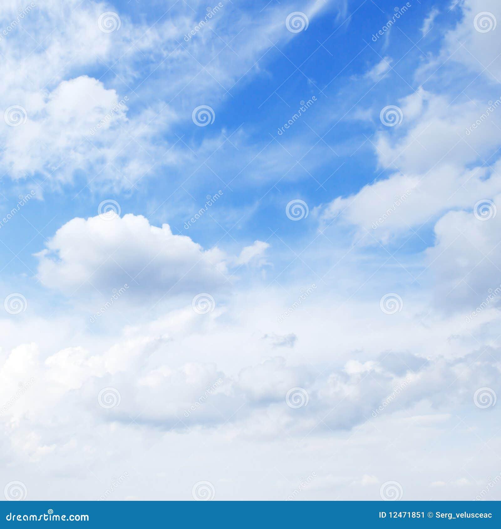 Blauwe hemel stock afbeelding afbeelding bestaande uit achtergrond 12471851 - Blauwe hemel kamer ...