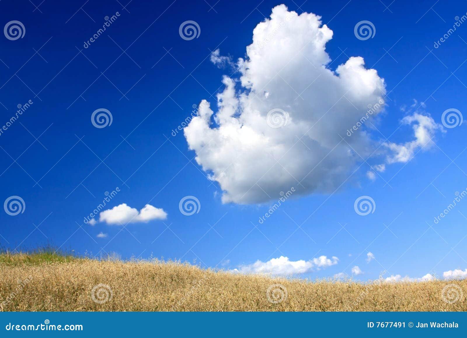 Blauwe hemel stock afbeelding afbeelding bestaande uit idyllisch 7677491 - Blauwe hemel kamer ...