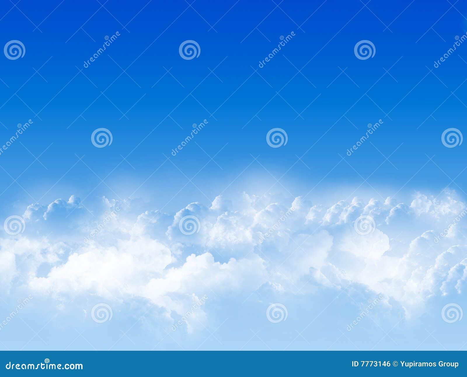 Blauwe hemel royalty vrije stock afbeelding afbeelding 7773146 - Blauwe hemel kamer ...