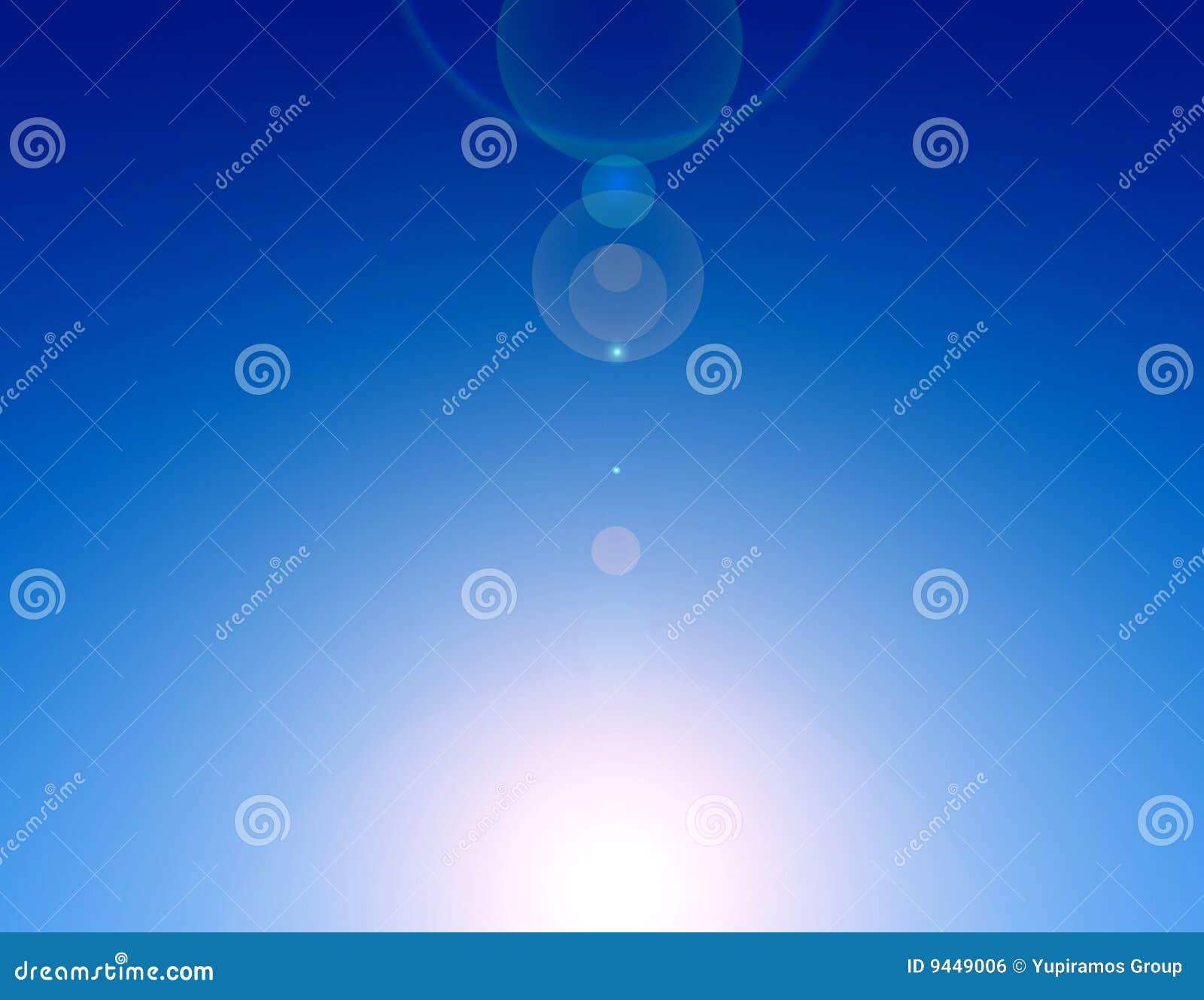 Blauwe hemel stock illustratie afbeelding bestaande uit schoonheid 9449006 - Blauwe hemel kamer ...