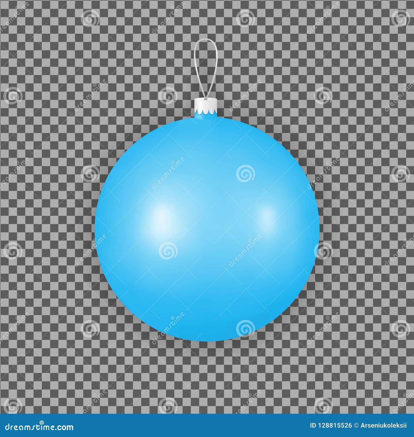 Blauwe Kerstmisornamenten voor vakantiedecoratie Het stuk speelgoed van de glasbal