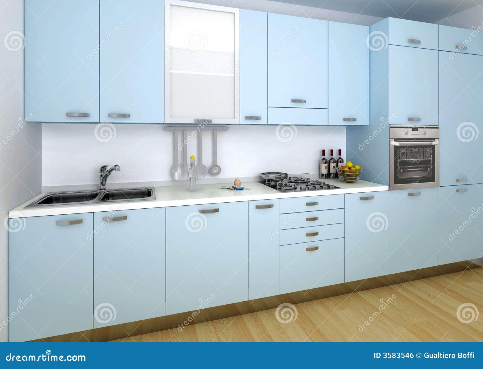 Woonkamer in groene en grijze - Keuken met cement tegels ...