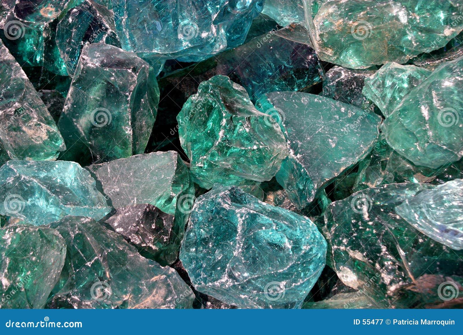 Blauwe Kristallen