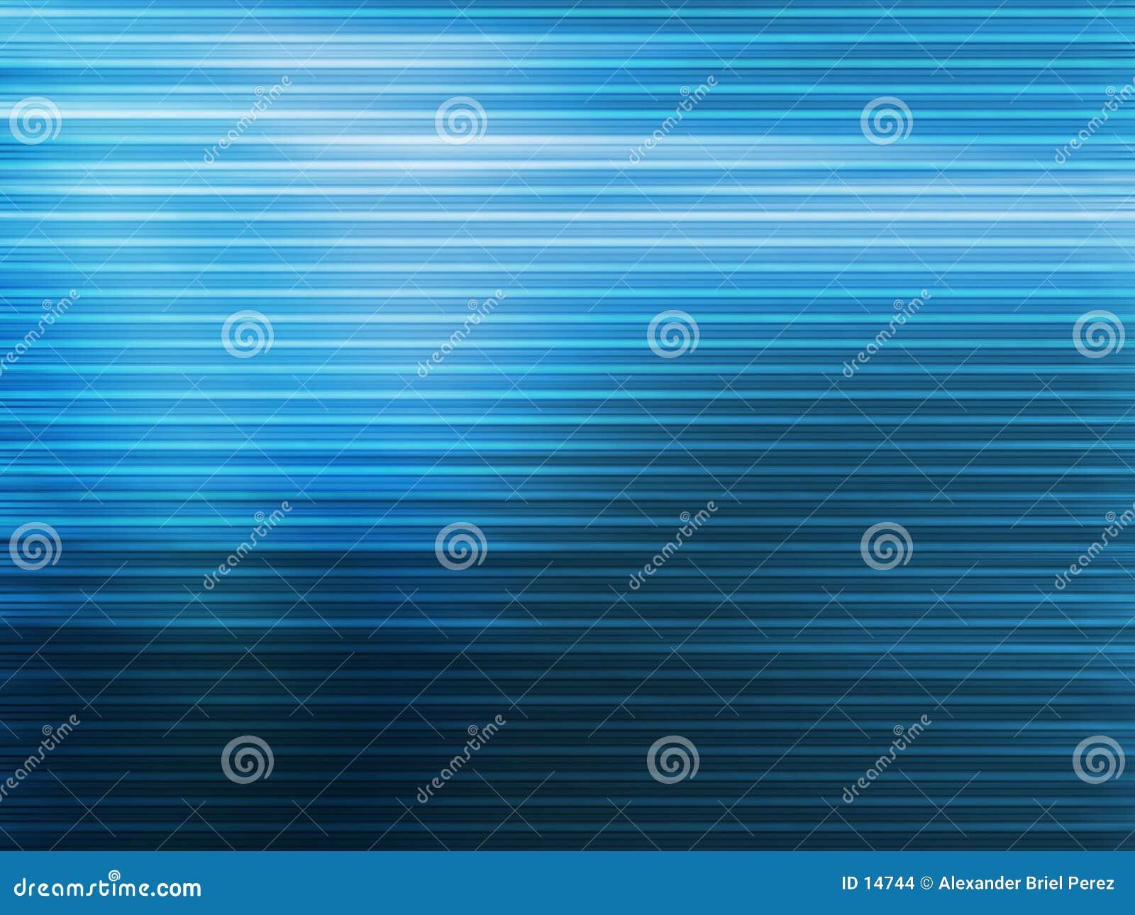 Blauwe lijnen