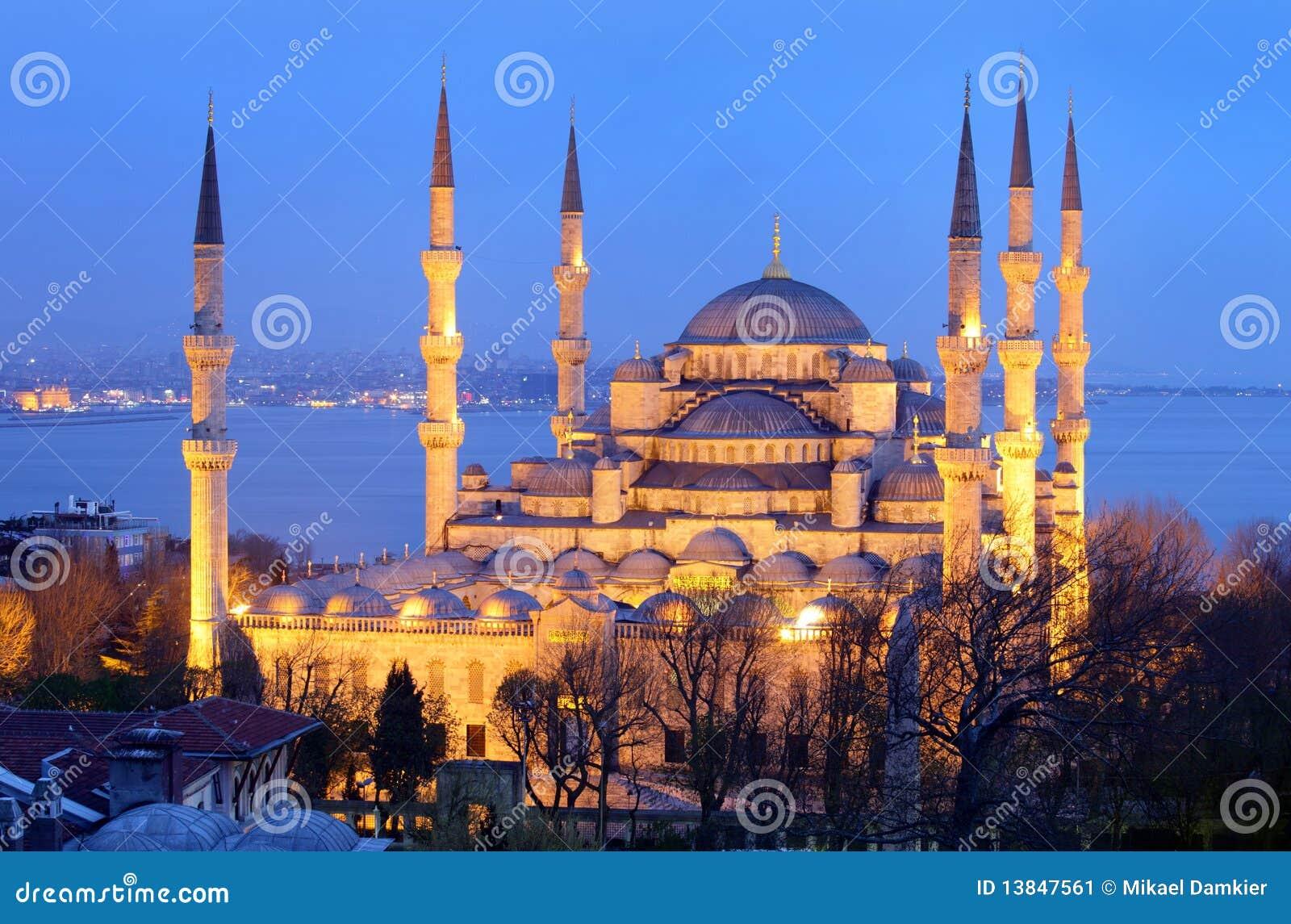 Blauwe moskee istanboel stock afbeelding afbeelding bestaande uit structuur 13847561 - Oostelijk licht ...