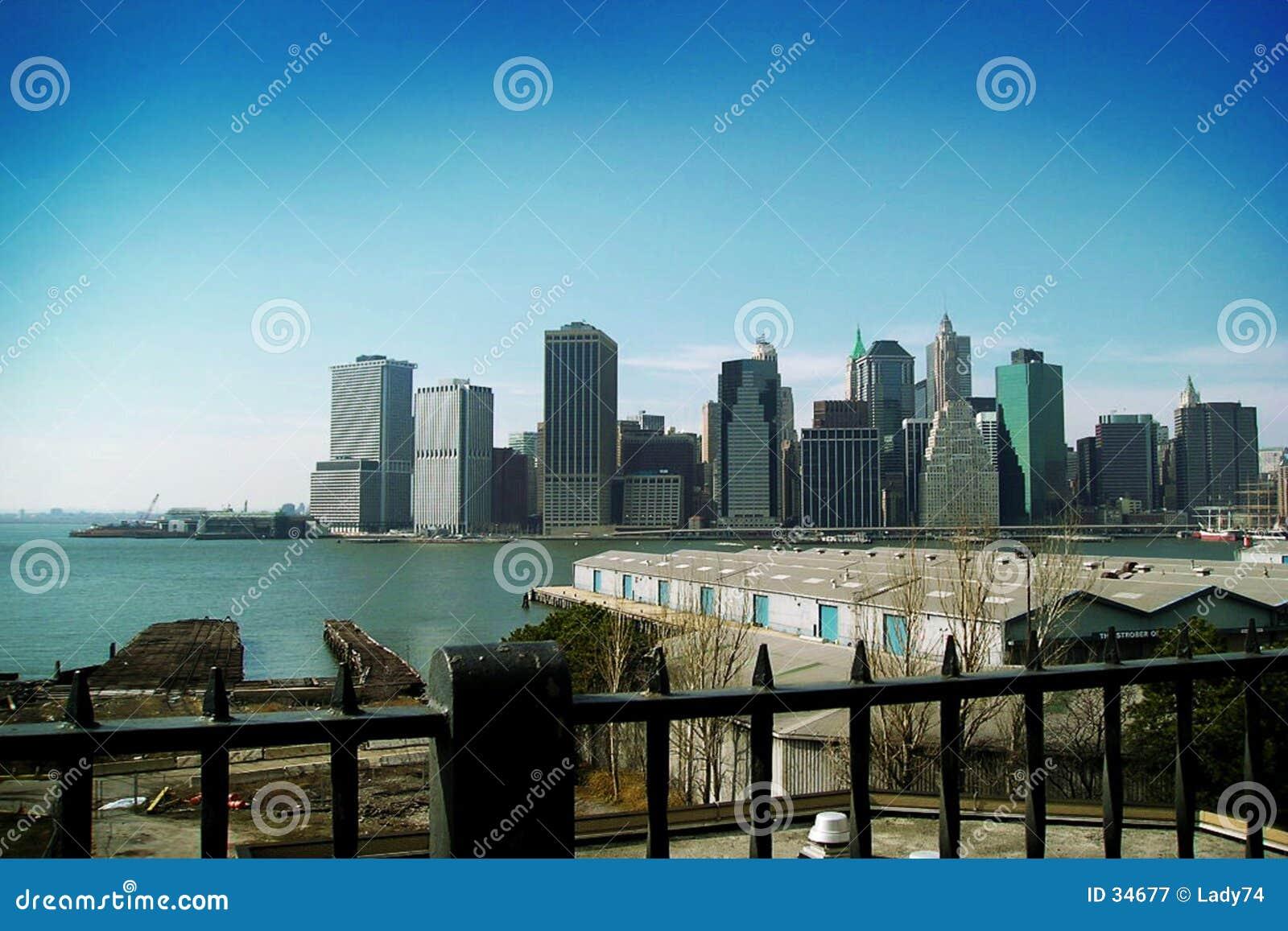 Blauwe NY