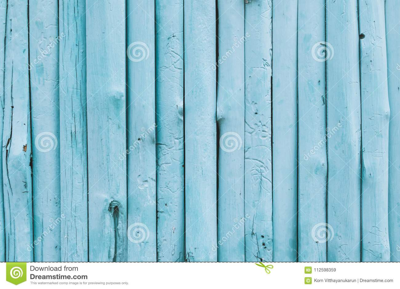 Blauwe oceaankleuren houten achtergrond