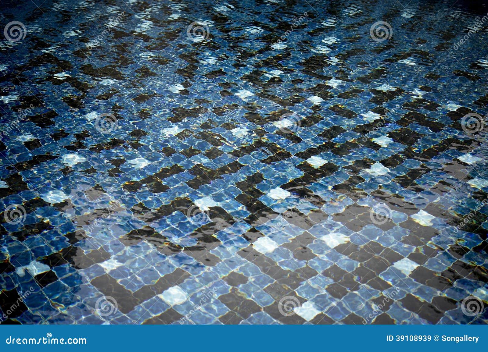 Blauwe pool