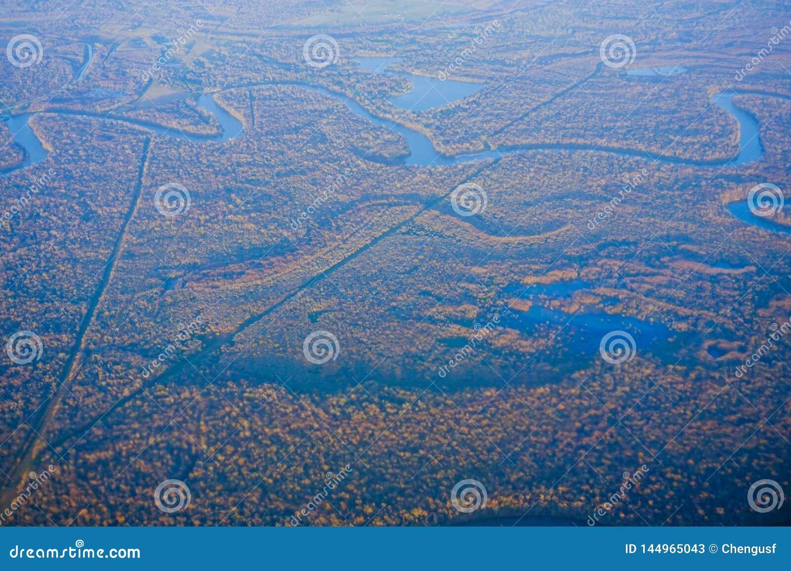 Blauwe rivier