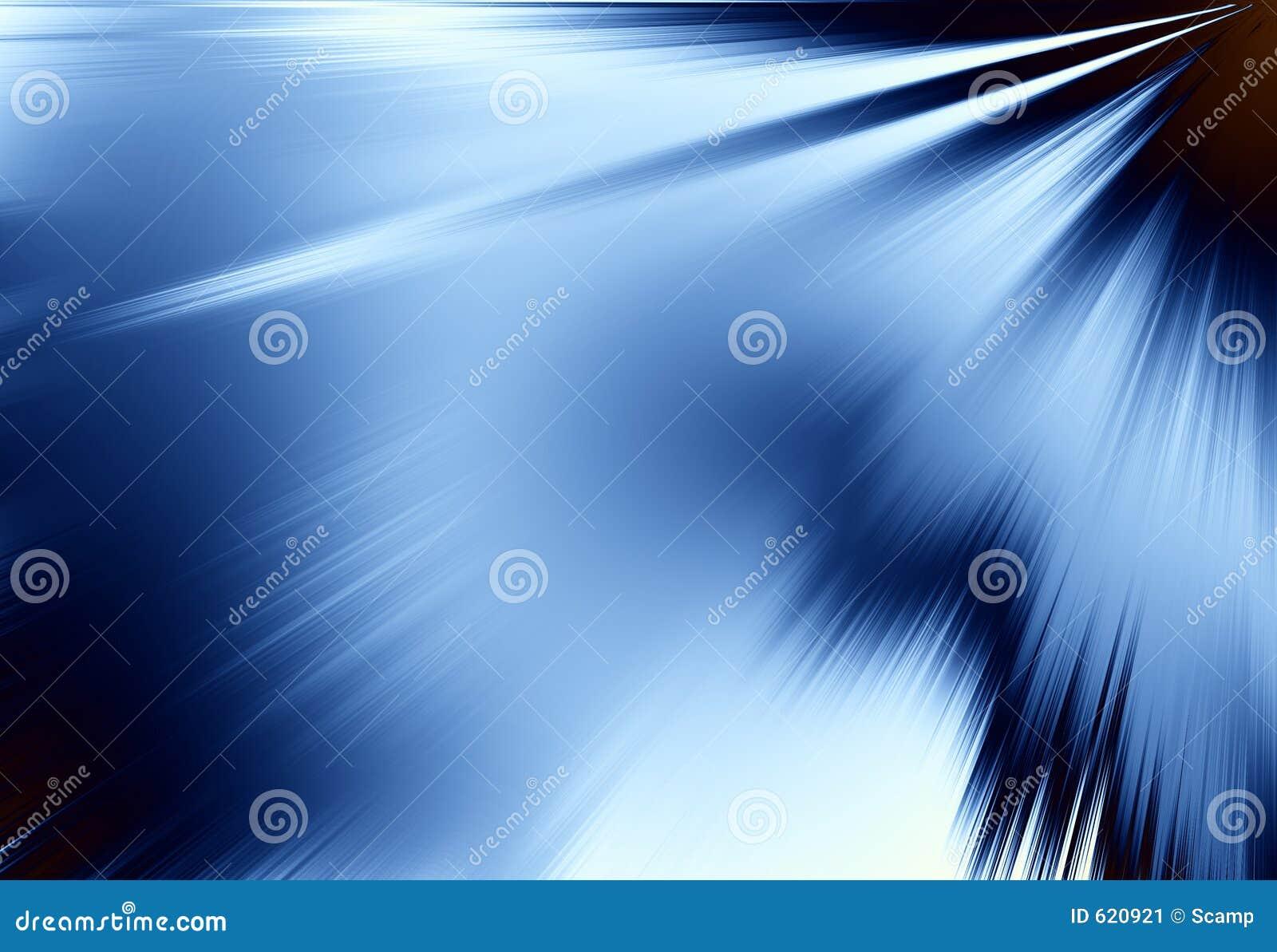 Blauwe Stralen van Lichte Achtergrond