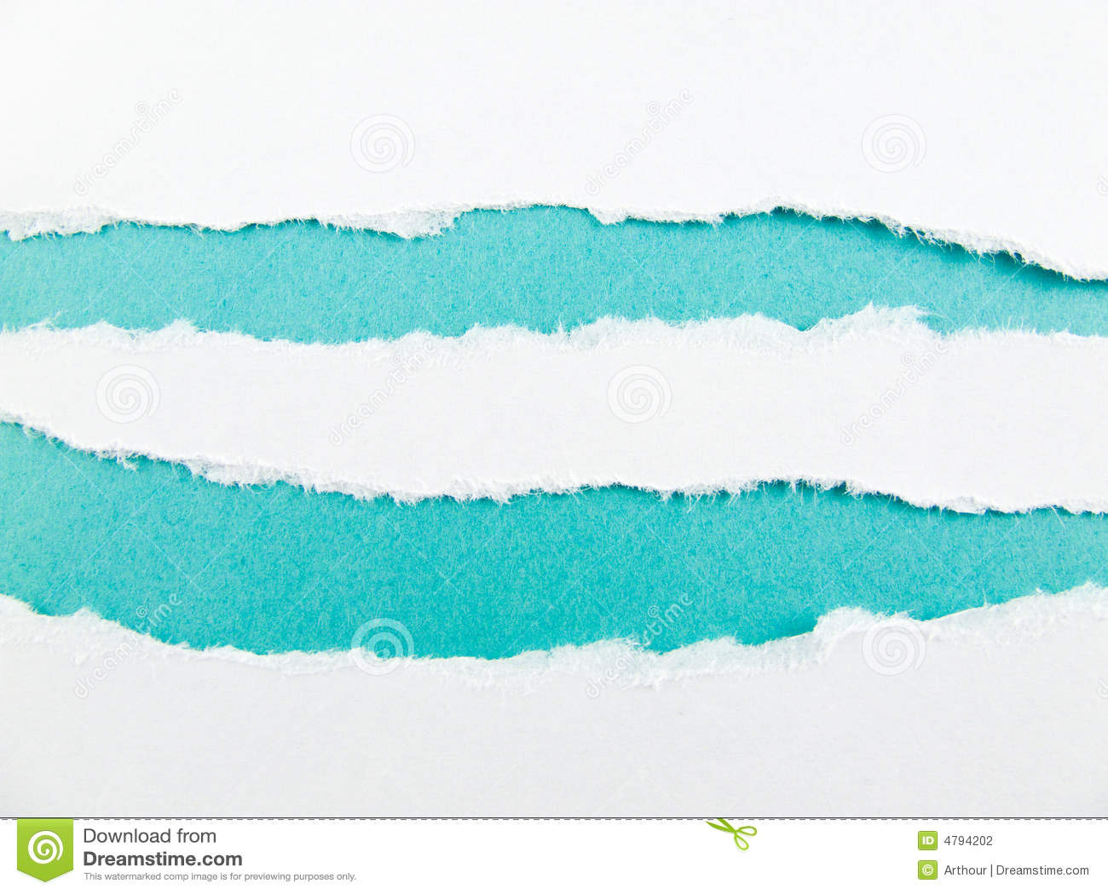 Blauwe strepen