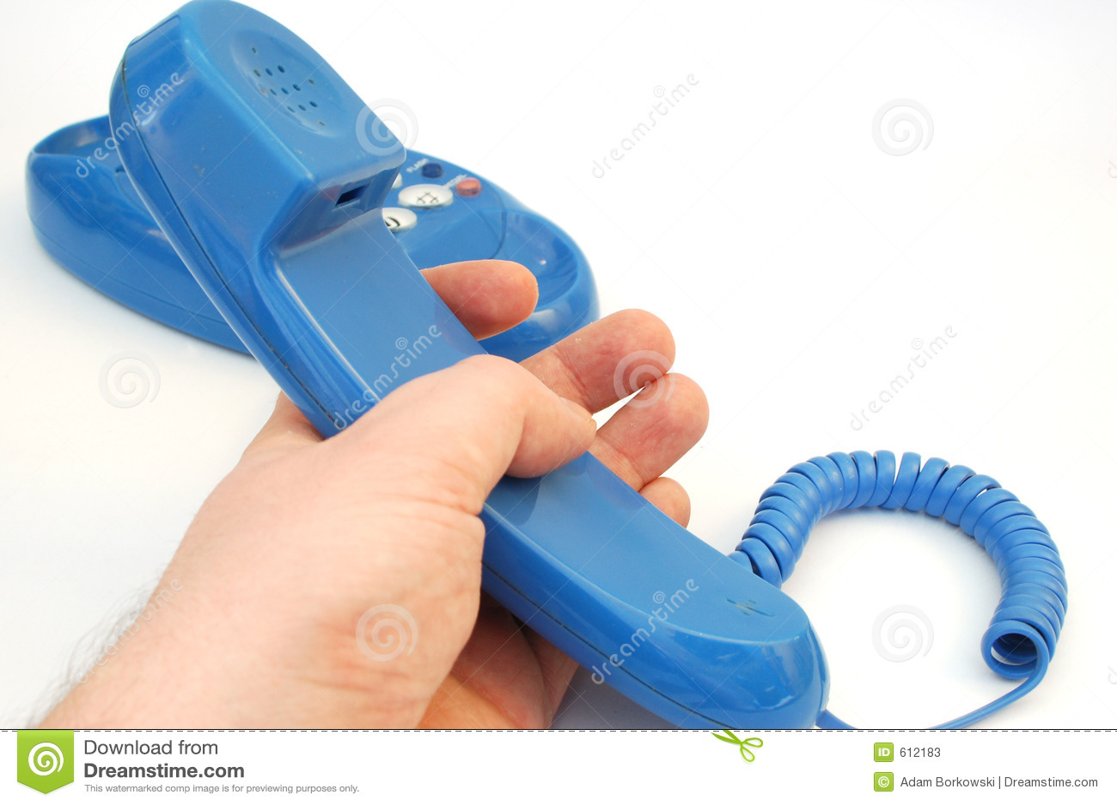 Blauwe telefoon #6