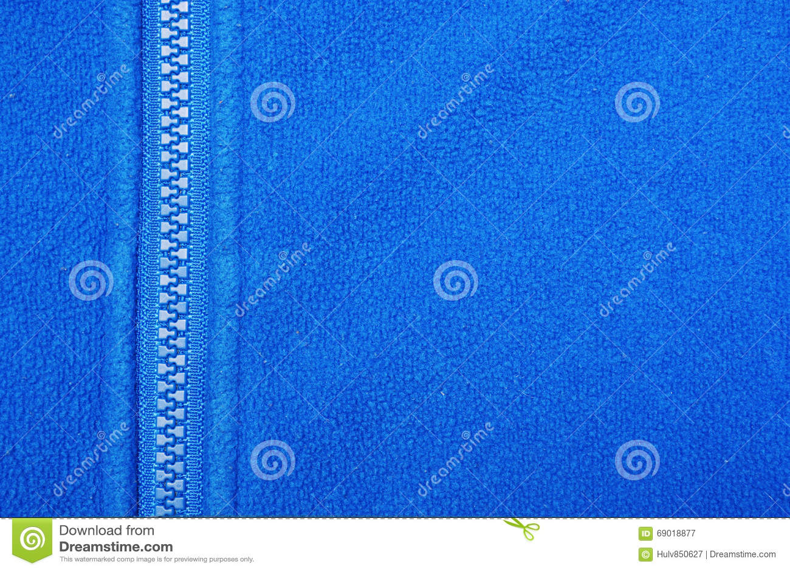 Blauwe vacht