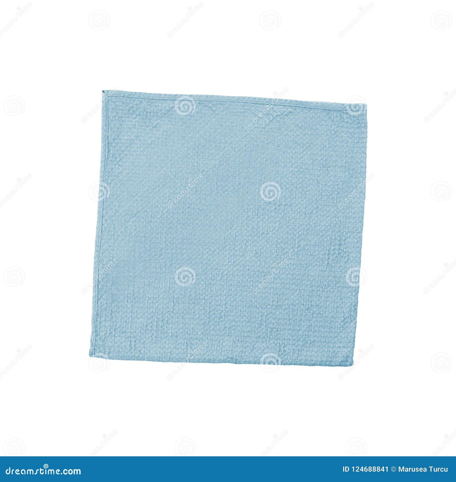 Blauwe vachtdeken