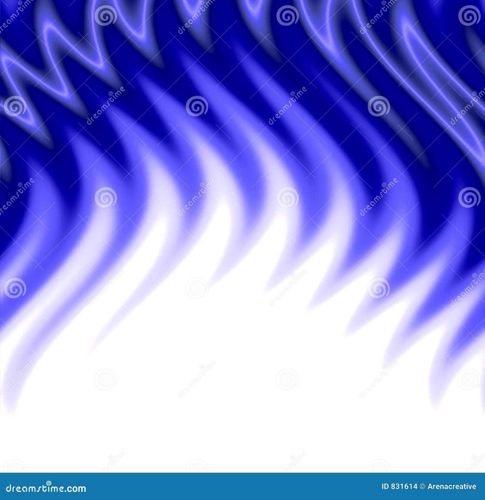 Blauwe vlammen