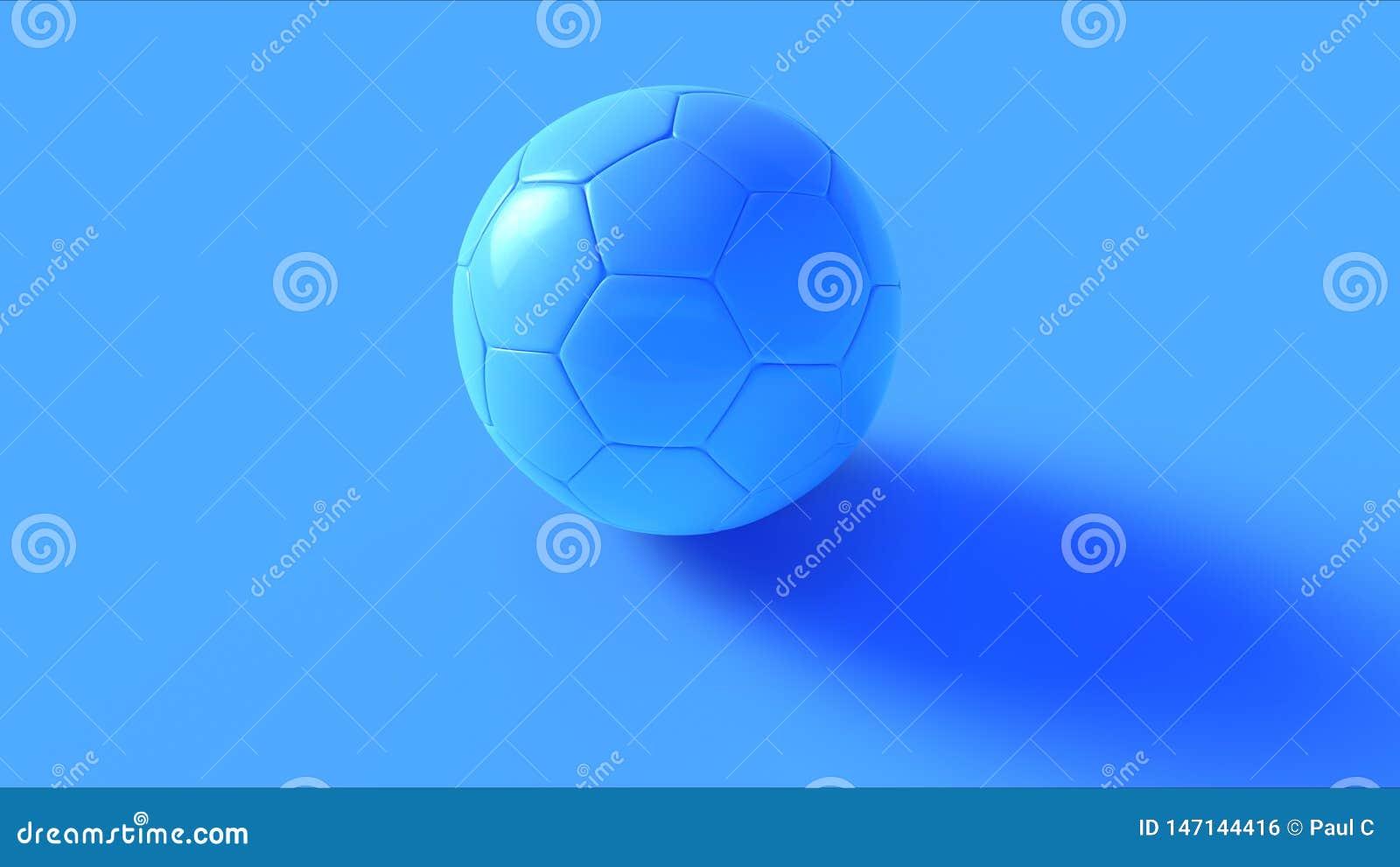 Blauwe Voetbal