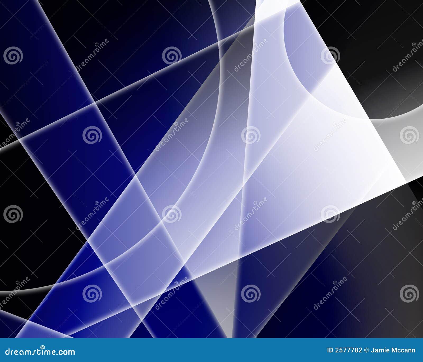 Blauwe vormen