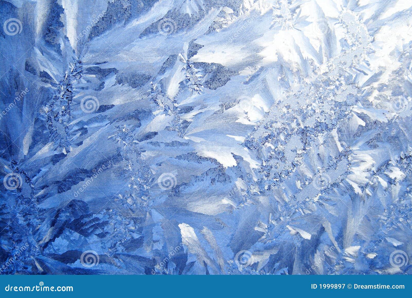 Blauwe vorstachtergrond