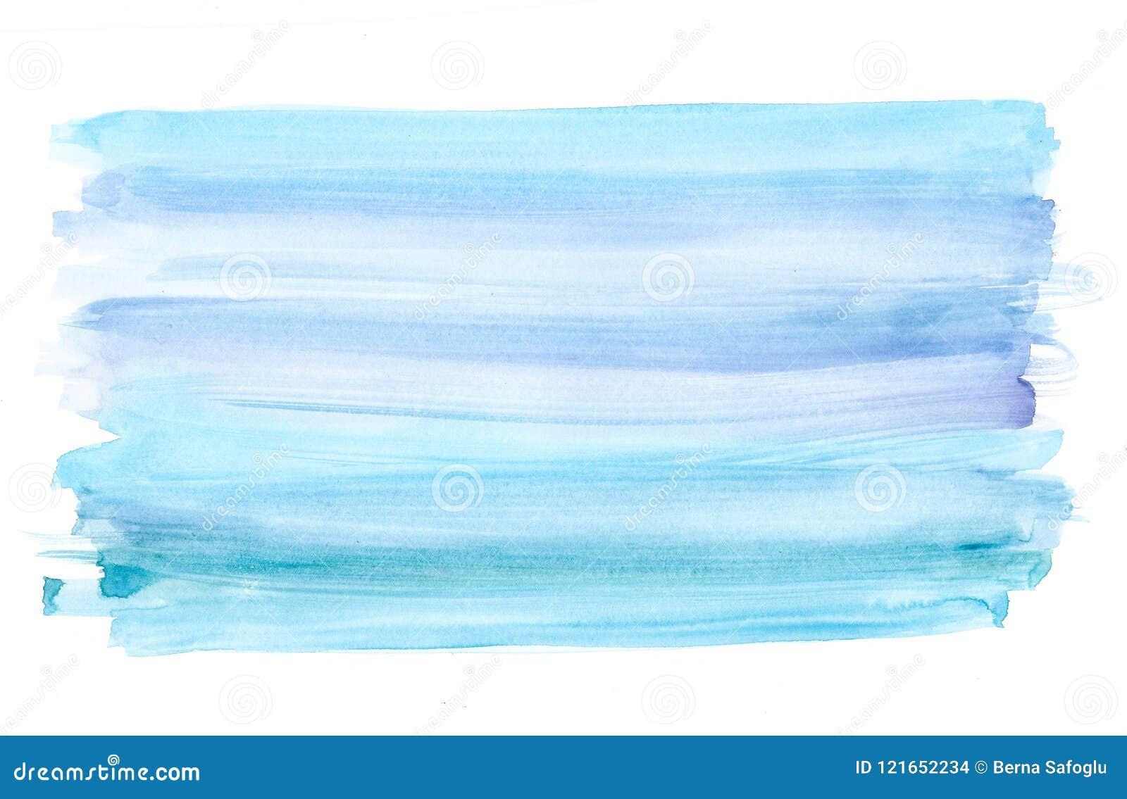 Blauwe waterverfachtergrond