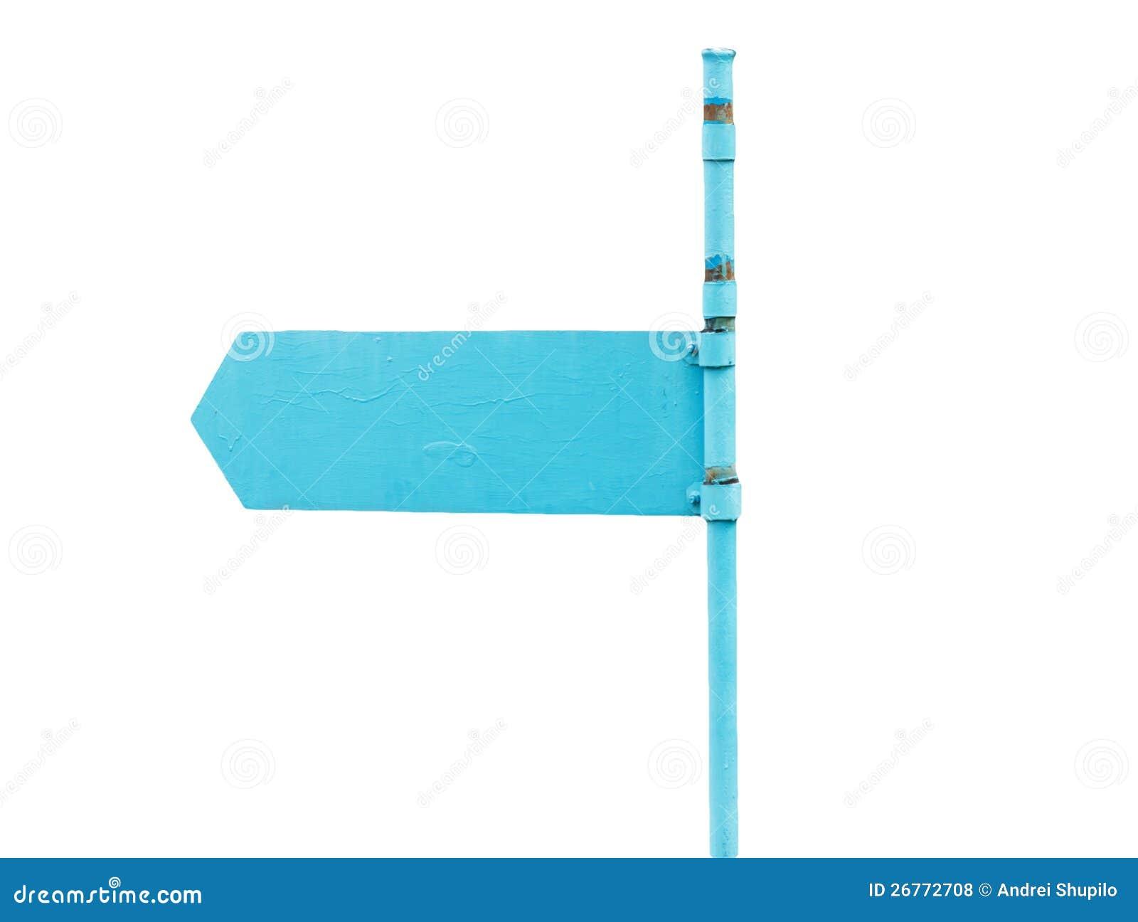 Blauwe wijzer