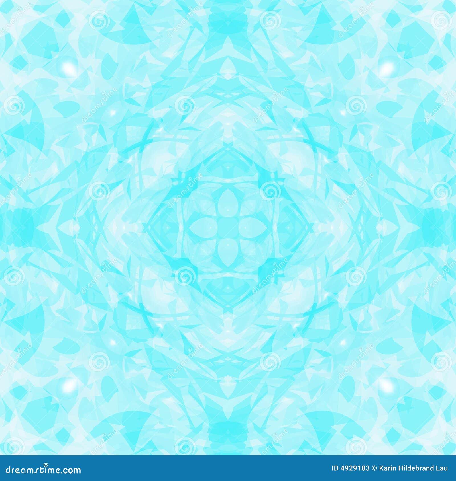 Blauwe Witte Caleidoscoop