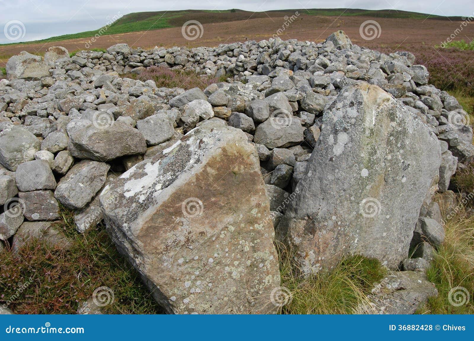 Download Blawearie cairn2 fotografia stock. Immagine di cairn - 36882428