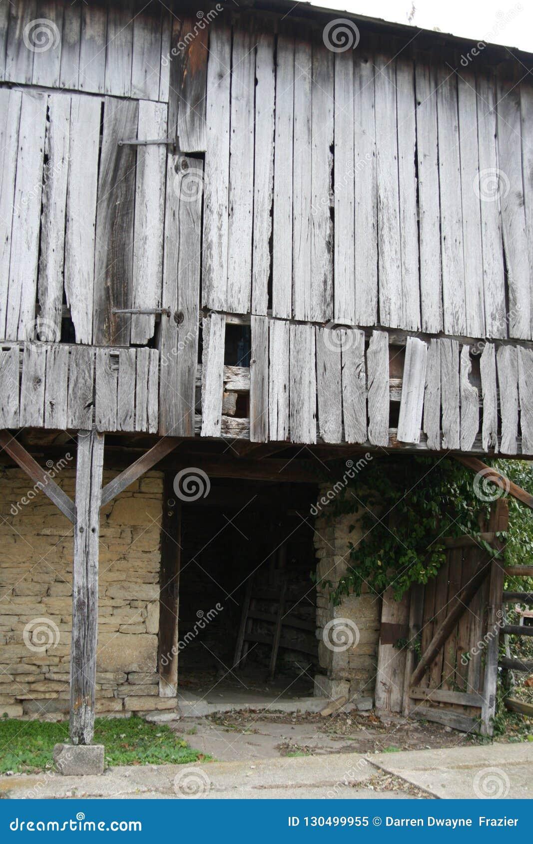 Bleached wood Barn