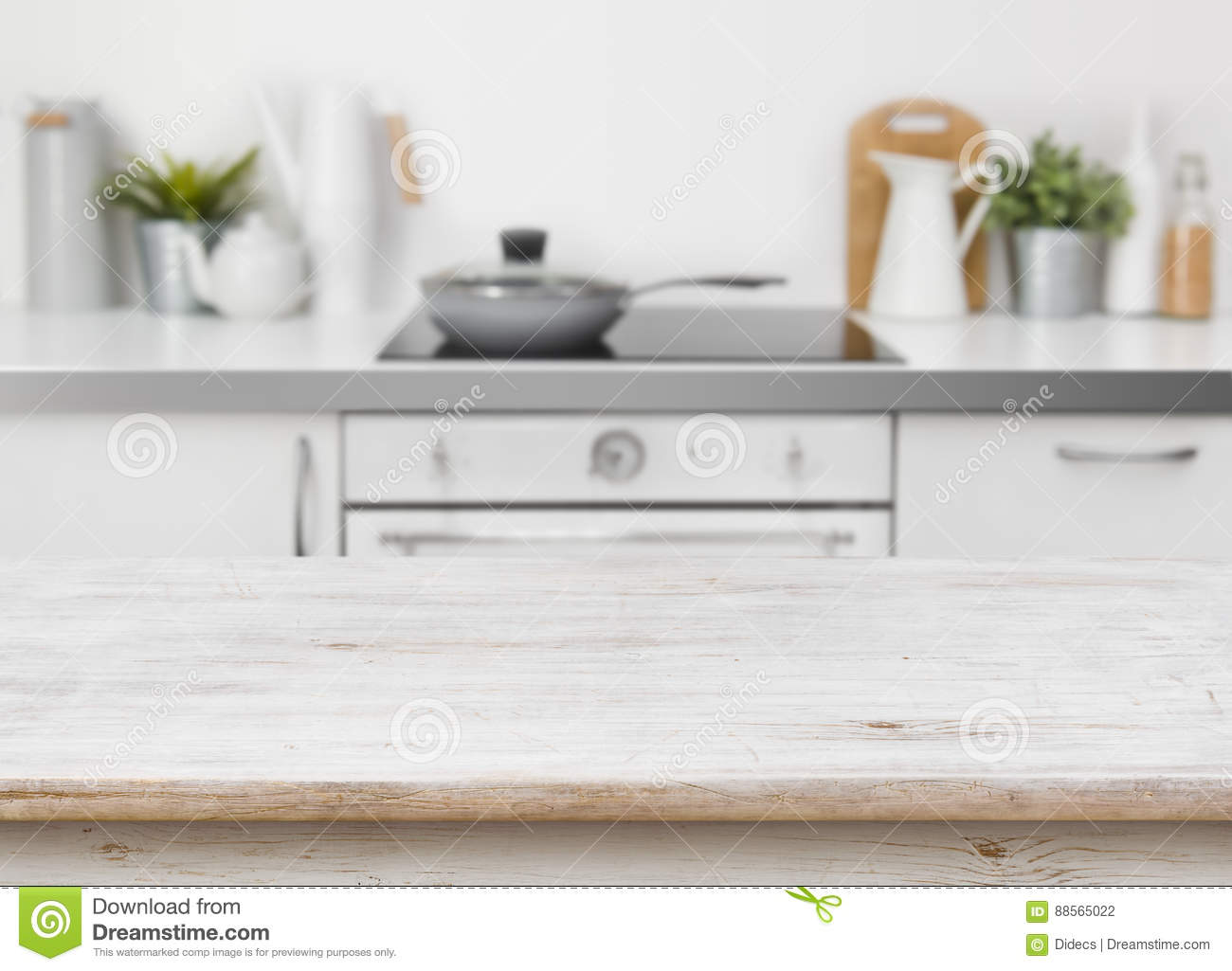 Fantastic Bleached Wooden Texture Table On Defocused Kitchen Bench Lamtechconsult Wood Chair Design Ideas Lamtechconsultcom