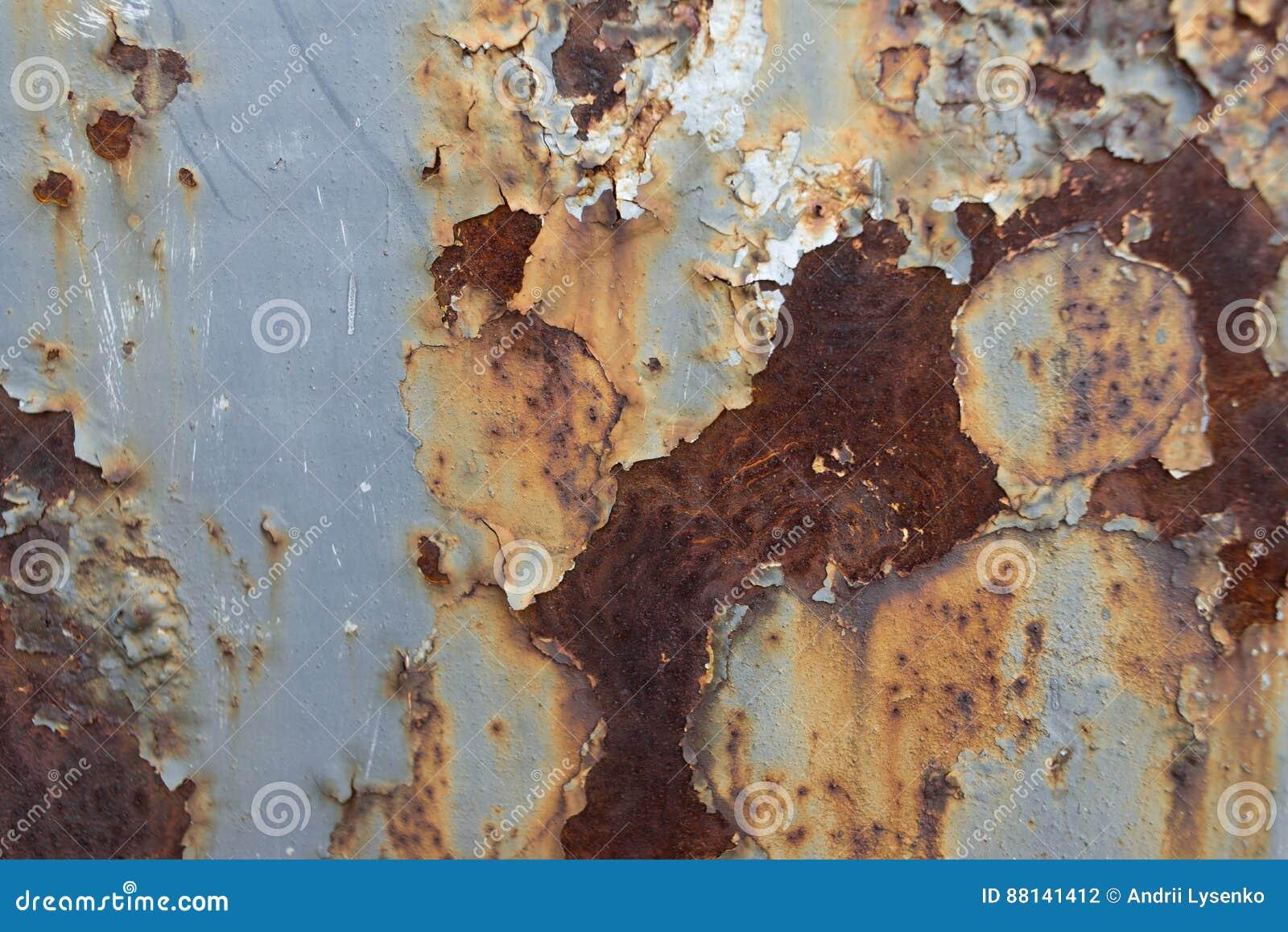 Blech Im Rost Stockfoto Bild Von Industriell Grunge 88141412
