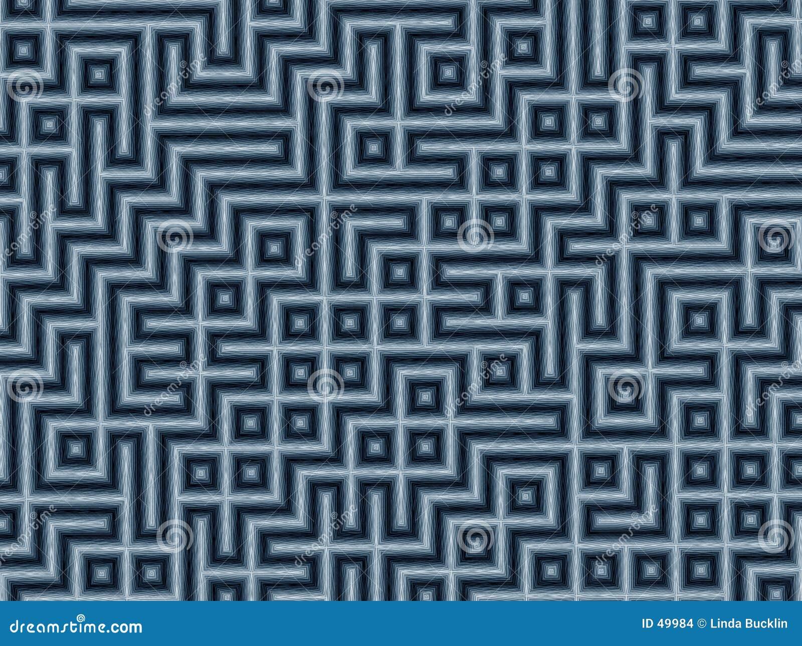 Bleistift-Labyrinth