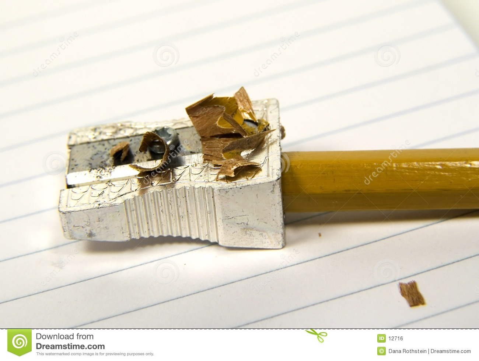 Bleistift schärfte 2
