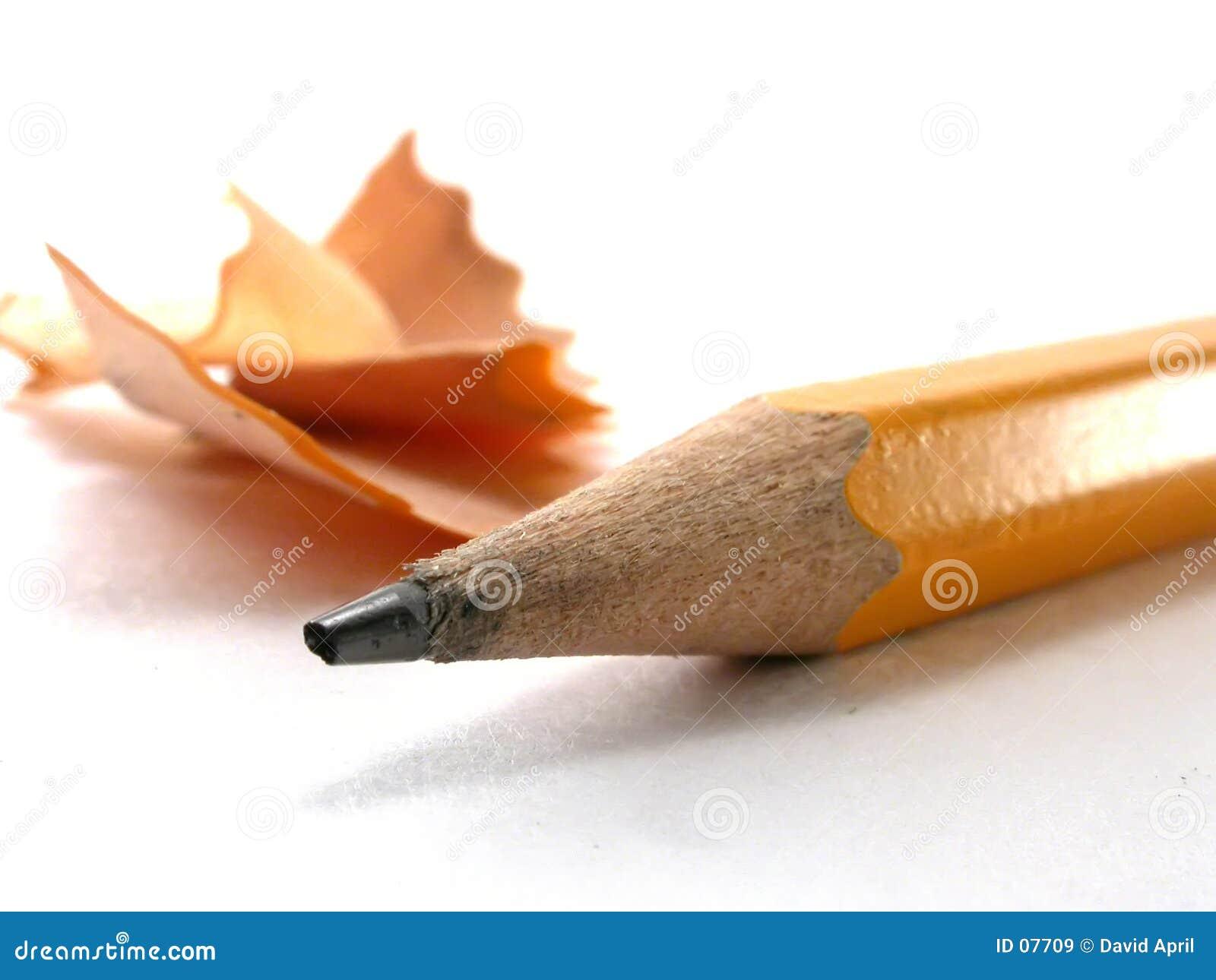 Bleistift-Schnitzel