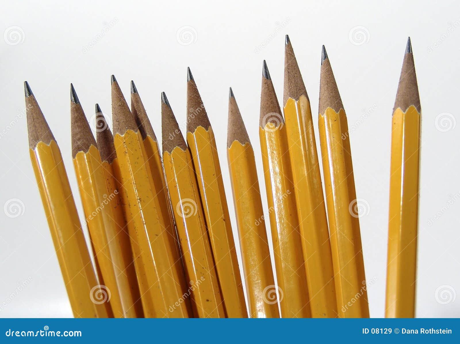 Bleistift-Stellung