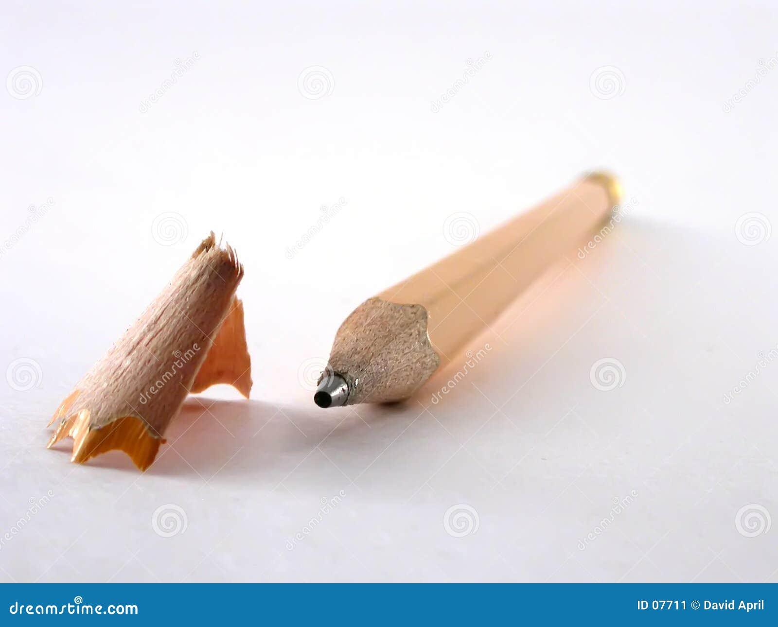 Bleistift und Rasieren
