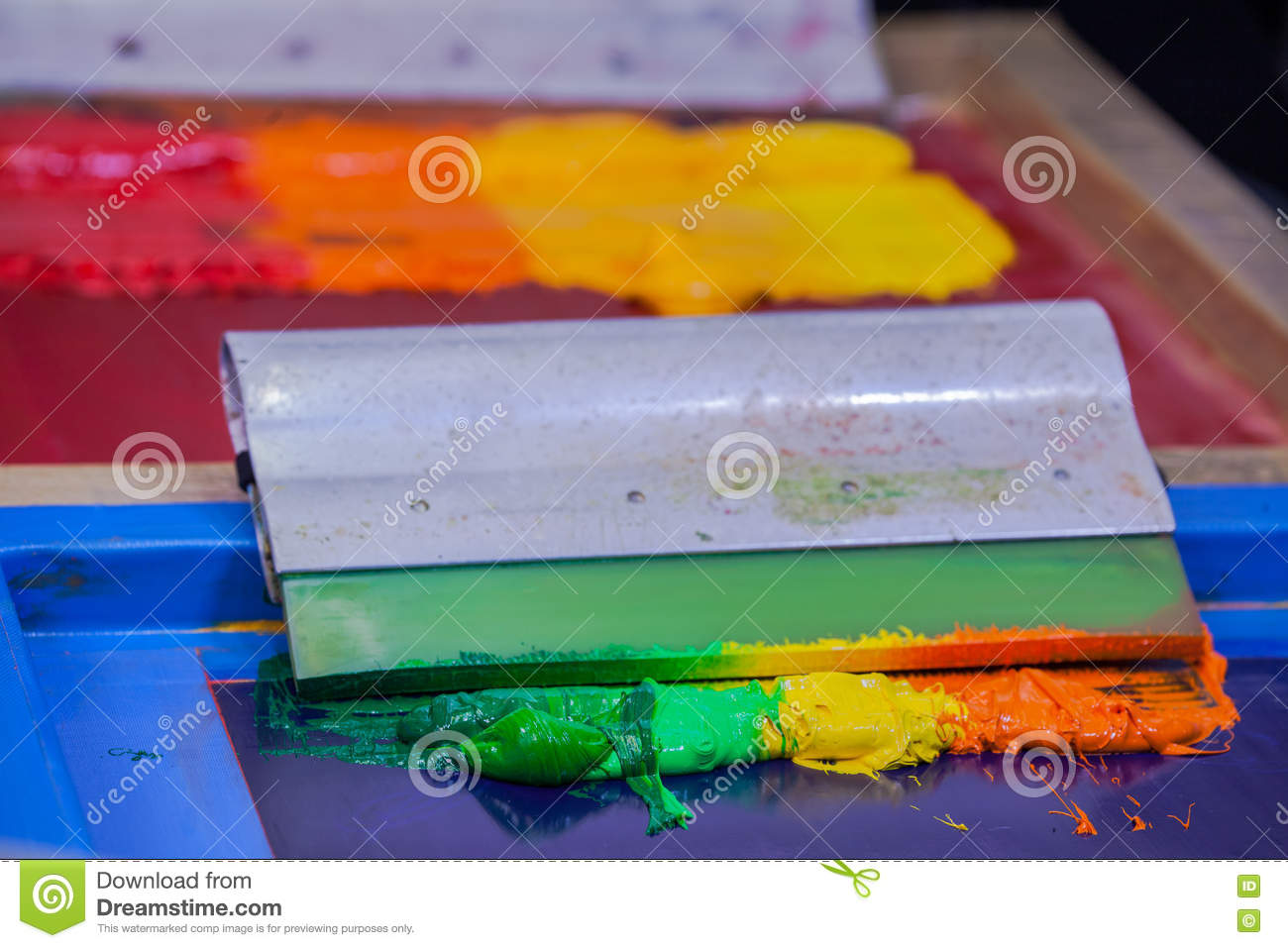 Blend colors by hand