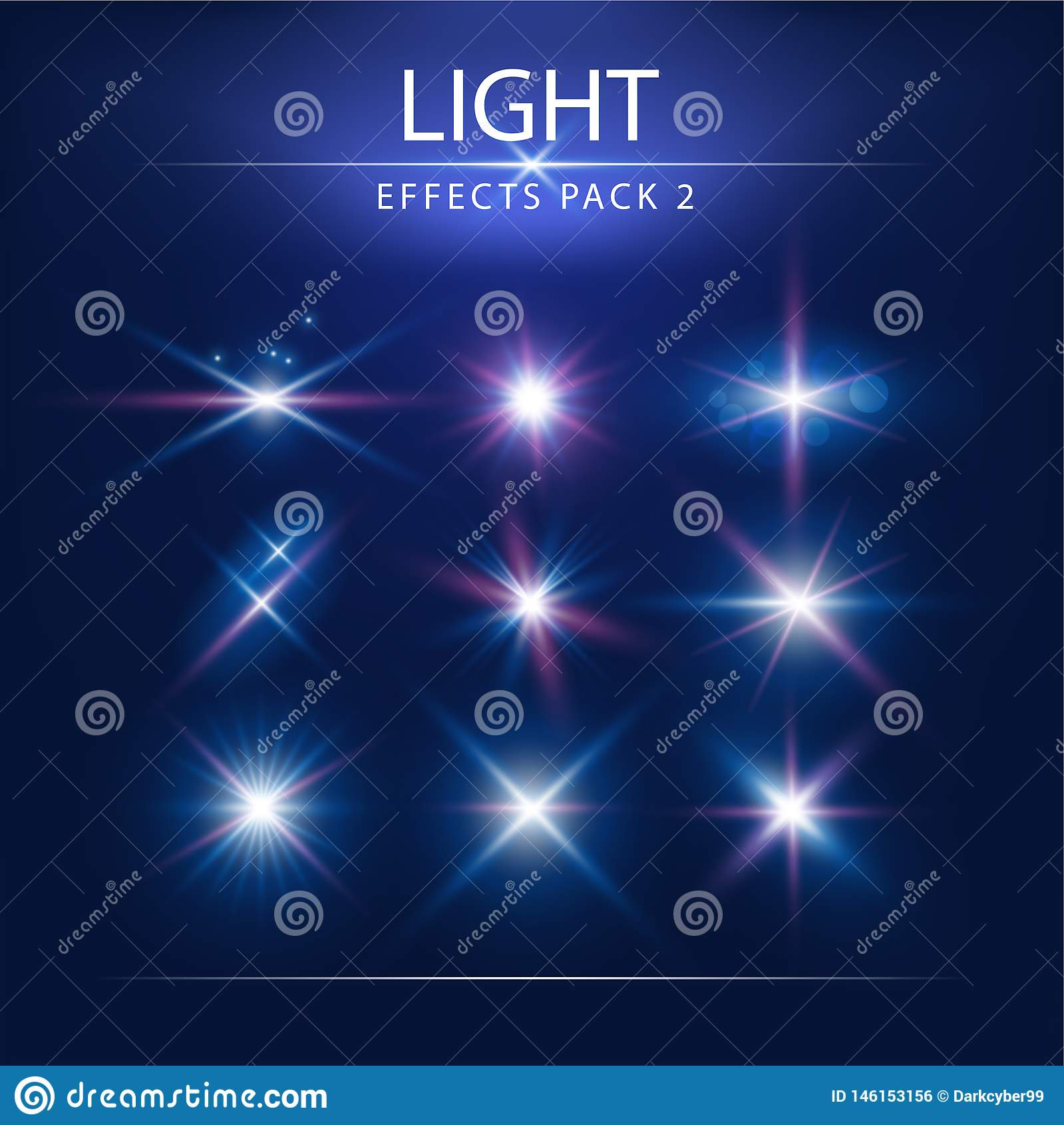 Blendenfleck-Effekte verpacken 2