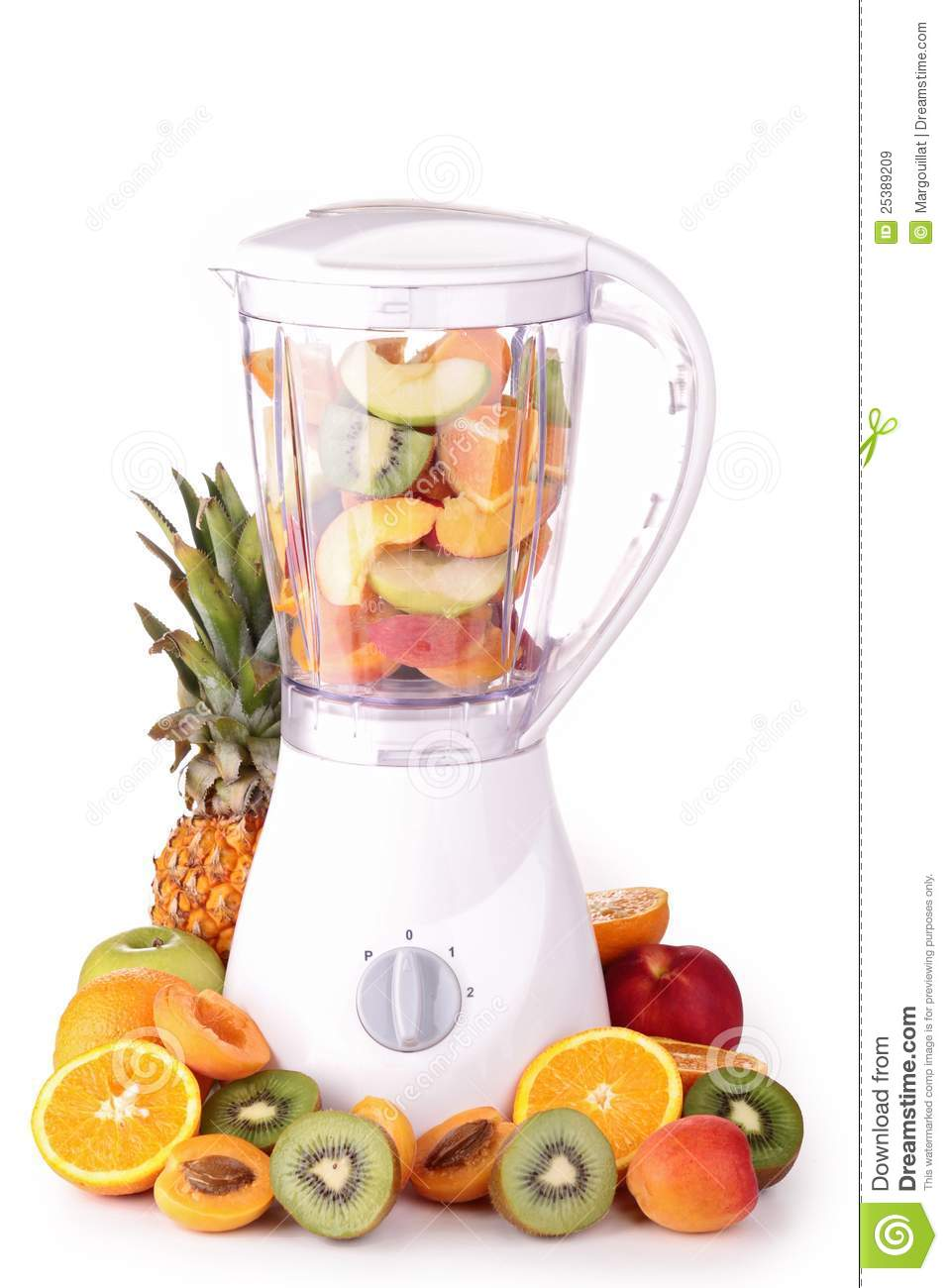 is blending fruit healthy fruit monster