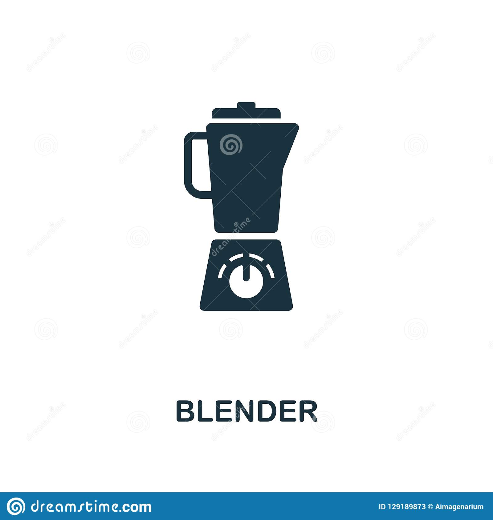 Blender Icon. Premium Style Design From Household Icon