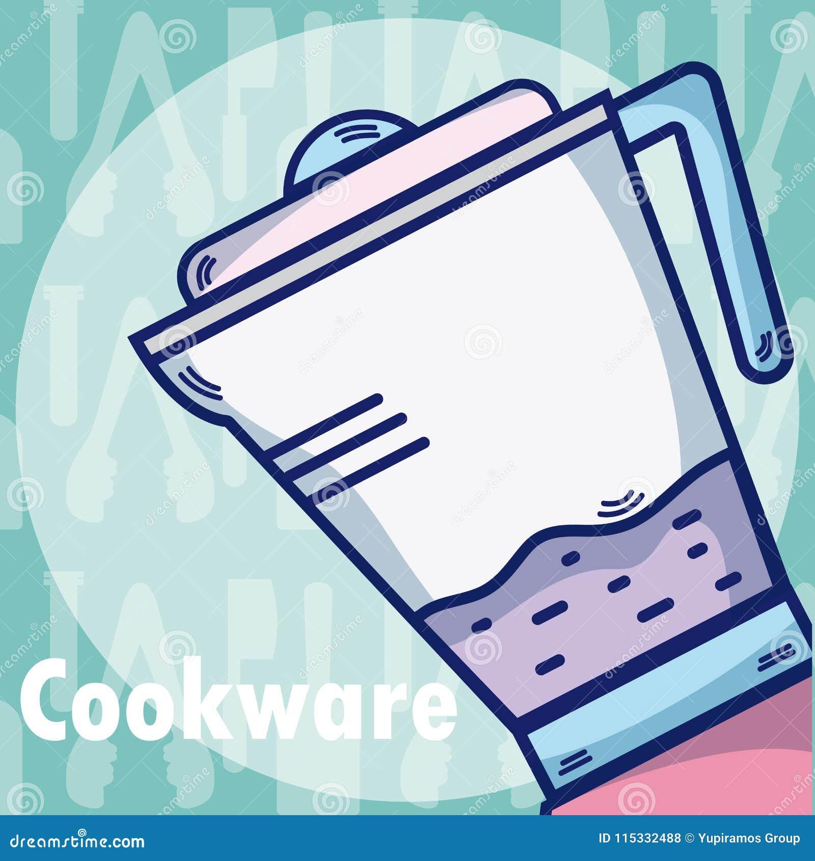Blender Kitchen equipment stock vector  Illustration of