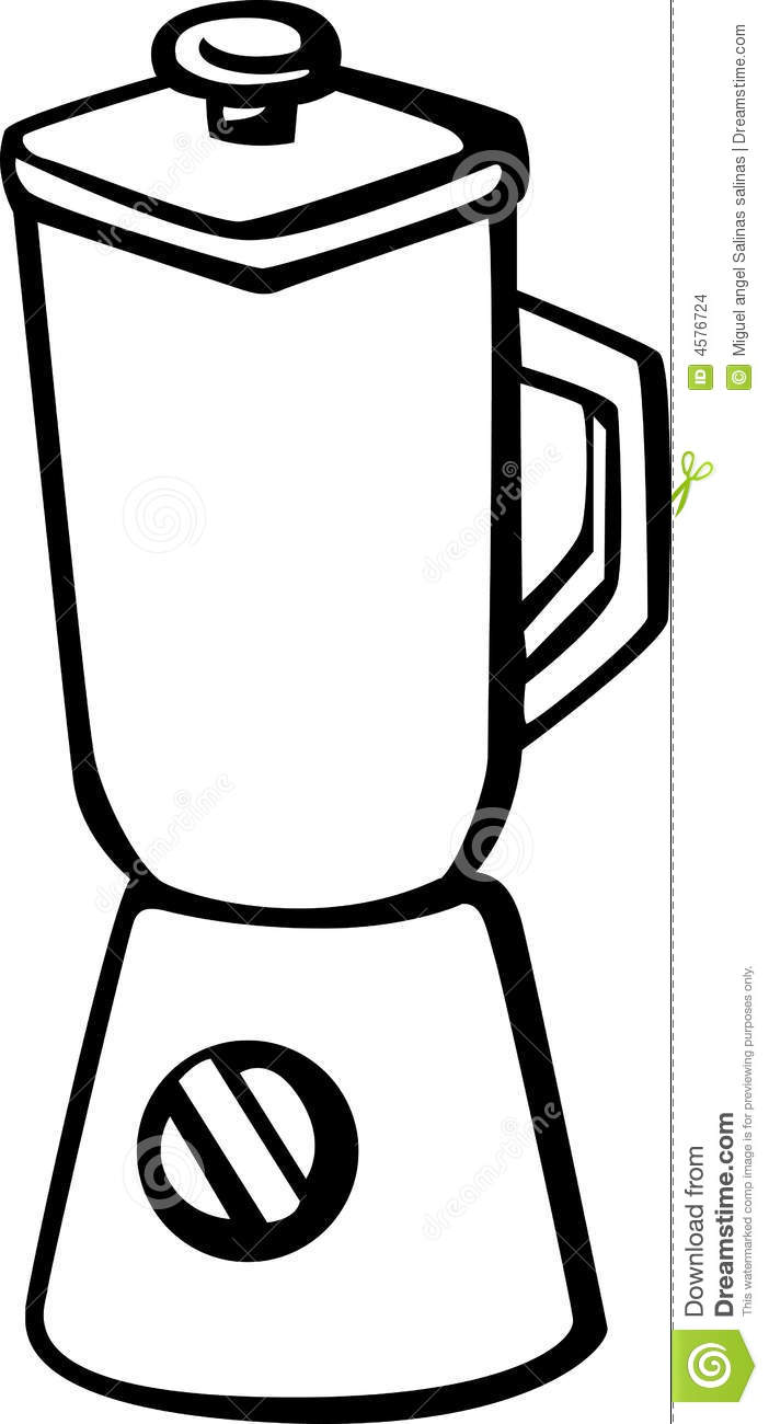 Clip Art Of Blender ~ Blender vector illustration stock images image