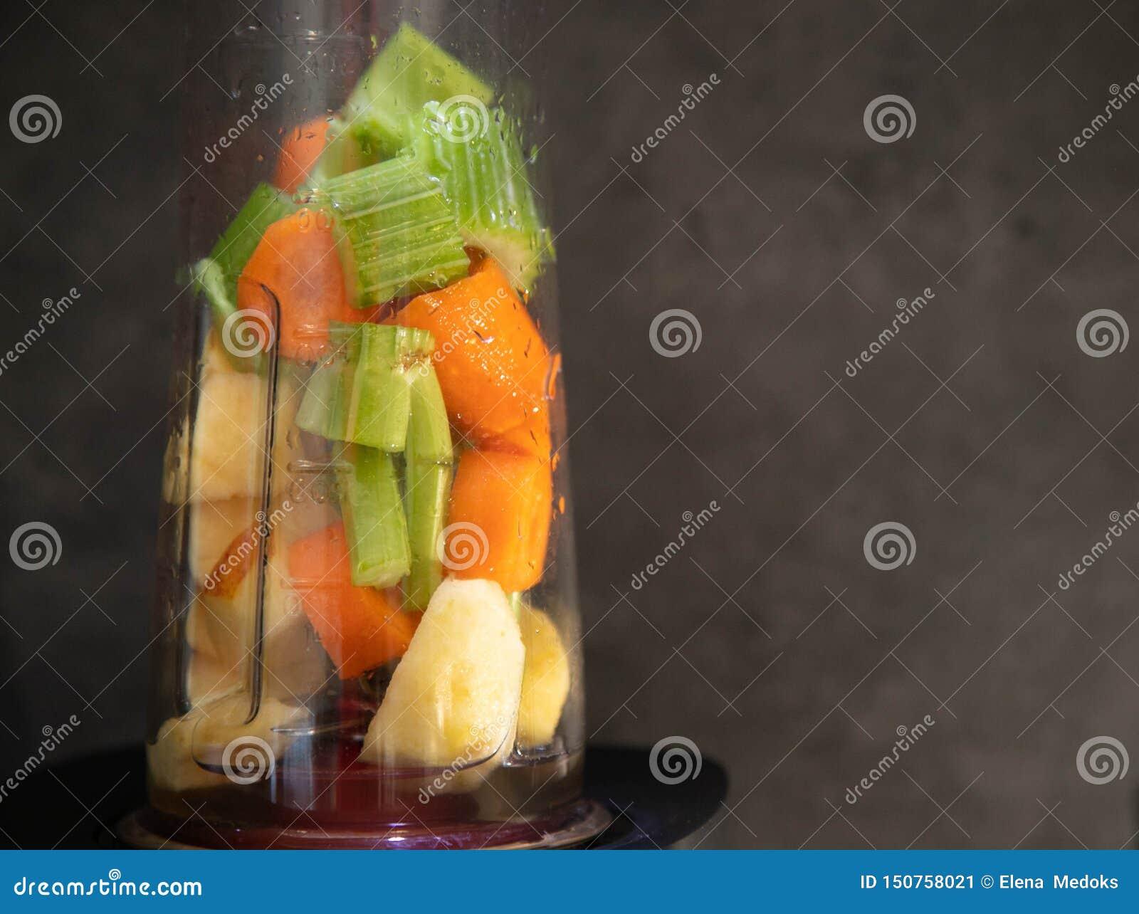 Blender Z ?wie?ymi warzywami E zdrowa ?ywno?? surowe jedzenie greaser