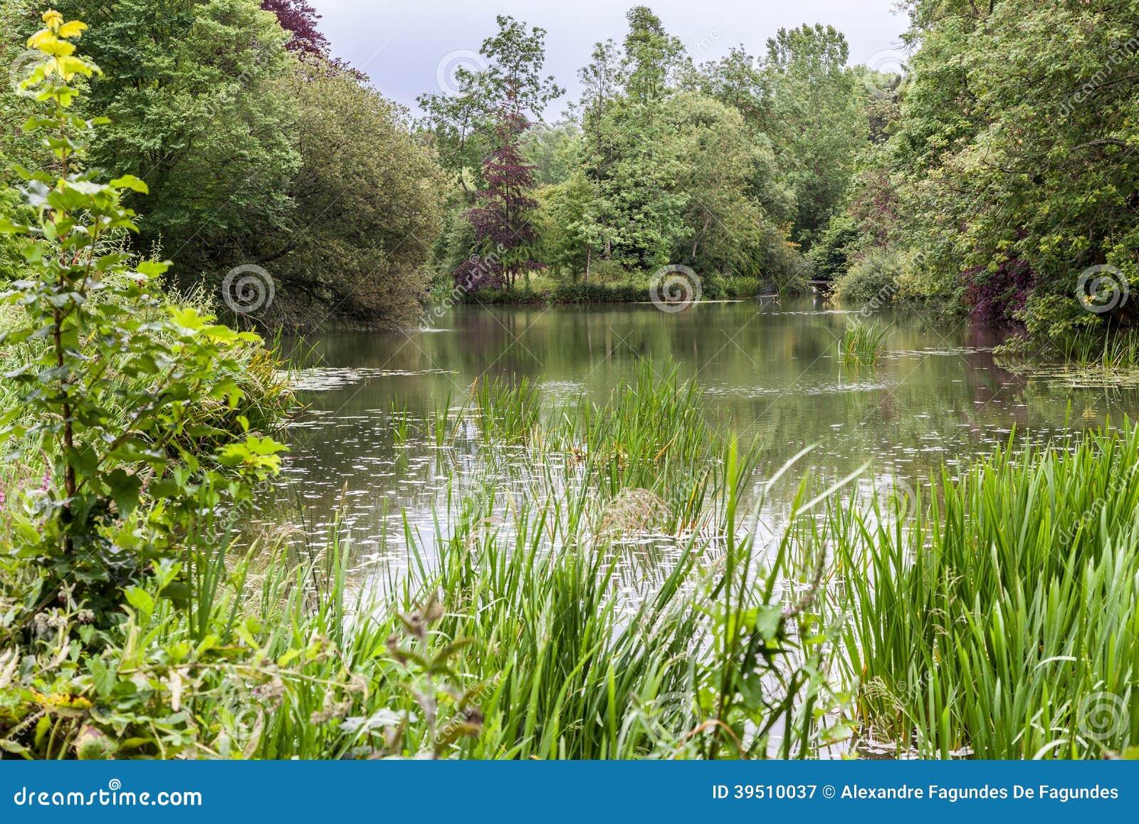 Blenheim Palace Gardens England