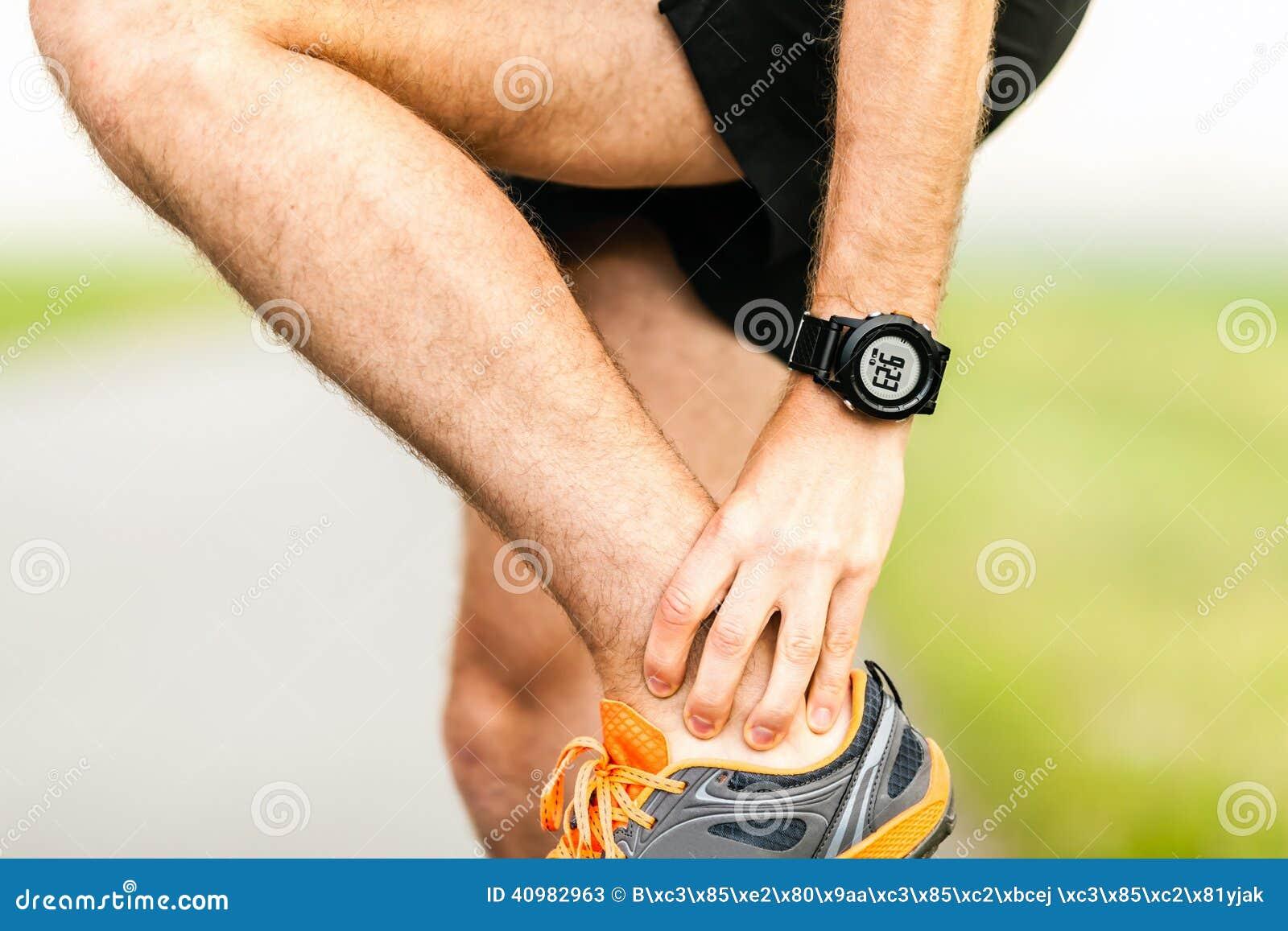 Blessure de douleur de genou de coureurs