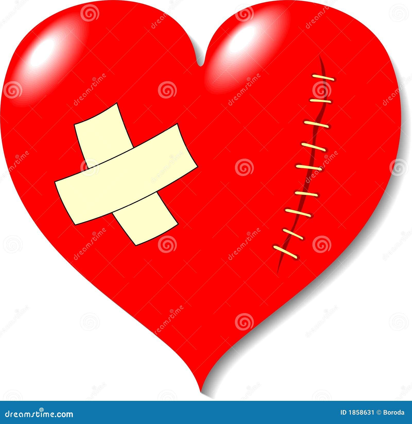 blessure sur le coeur de l 39 amour image stock image 1858631. Black Bedroom Furniture Sets. Home Design Ideas