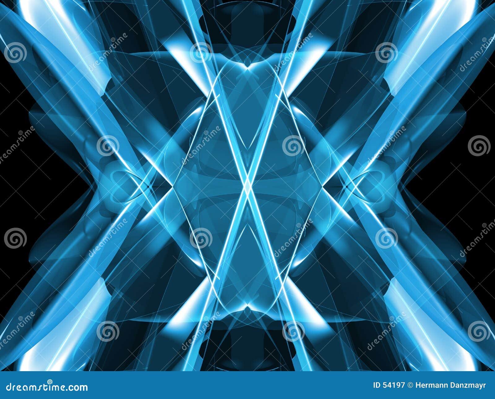 Download Bleu abstrait illustration stock. Illustration du wallpaper - 54197