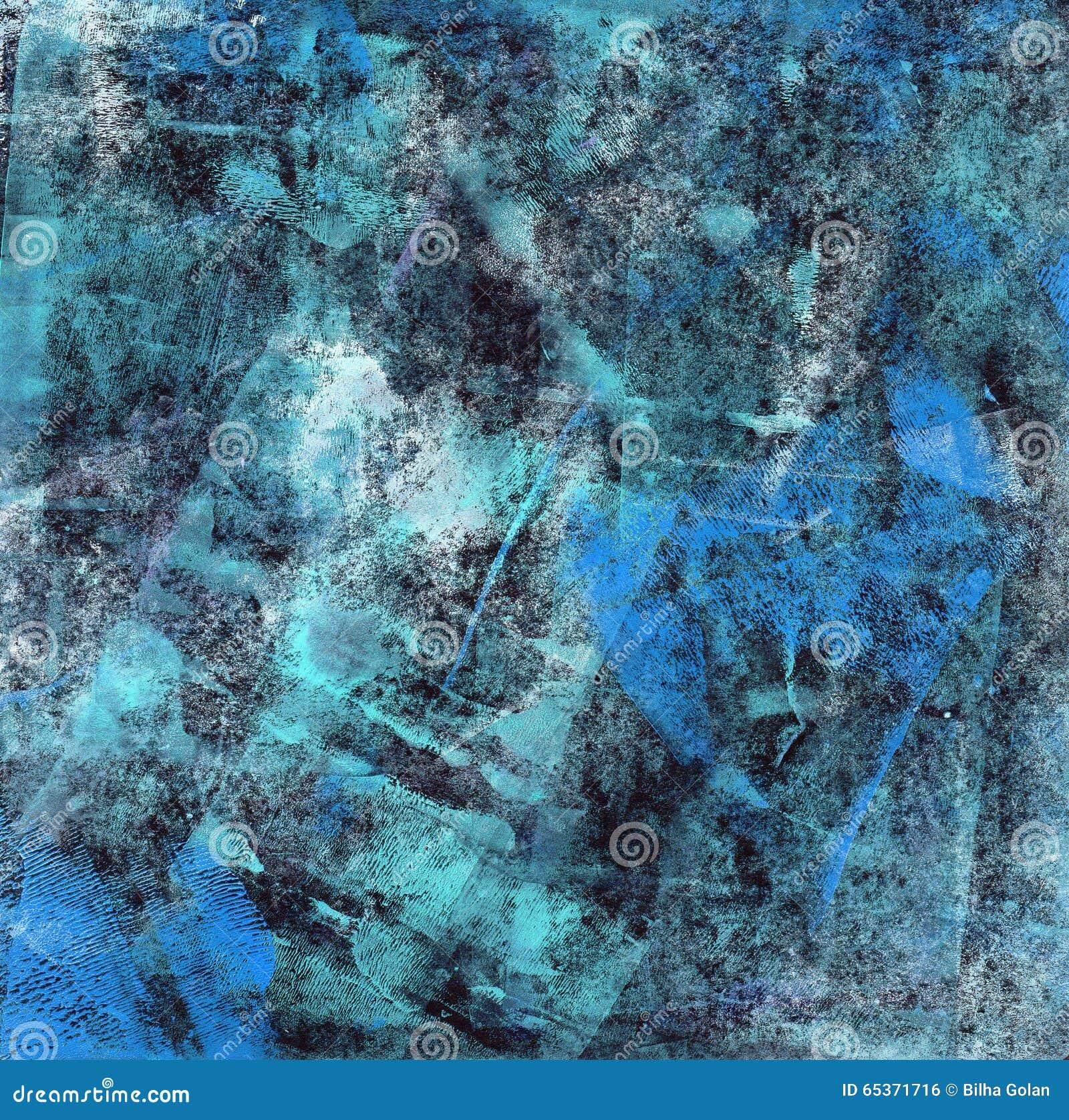 Bleu abstrait