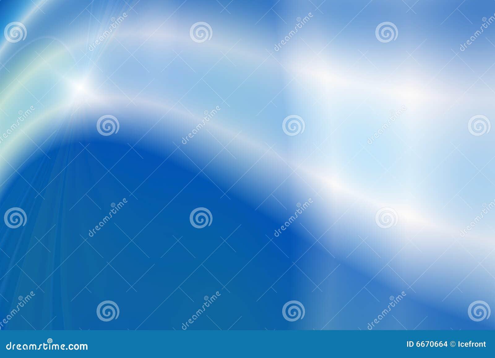 Bleu abstrait de fond