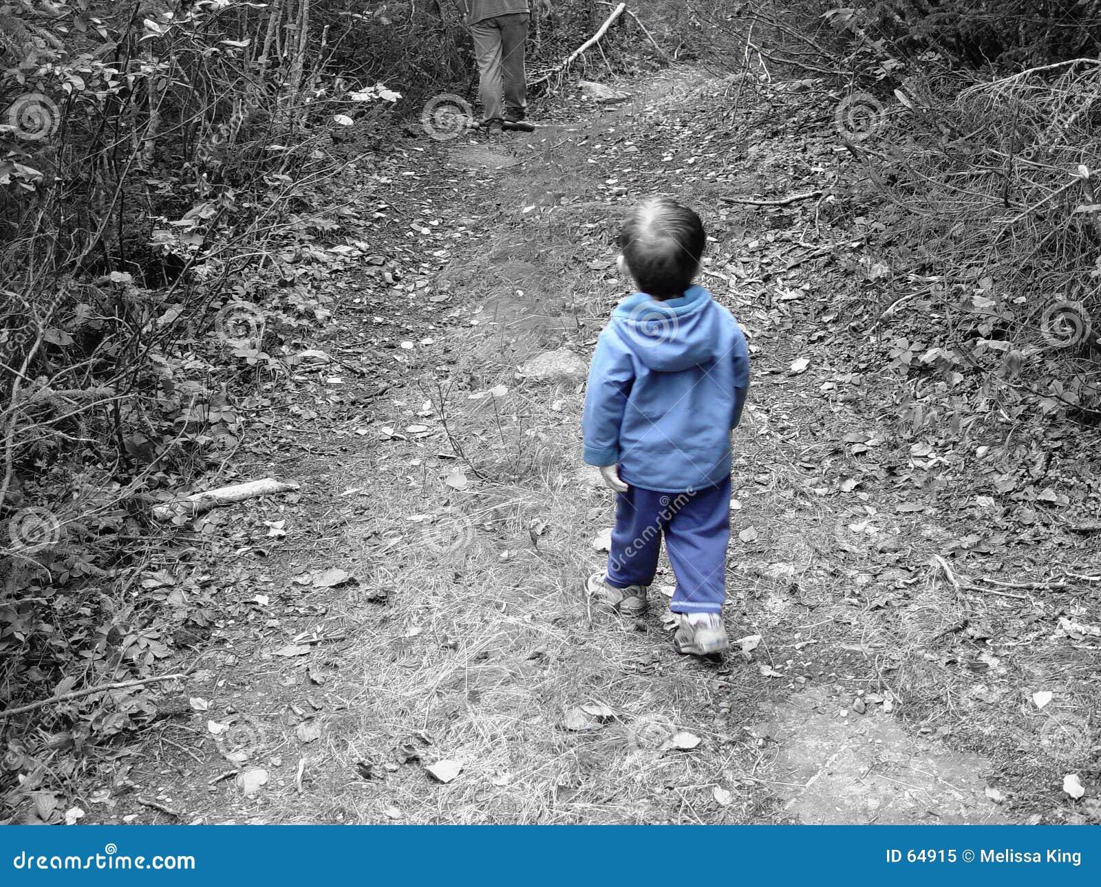 Download Bleu de Little Boy image stock. Image du hommes, path, bleu - 64915
