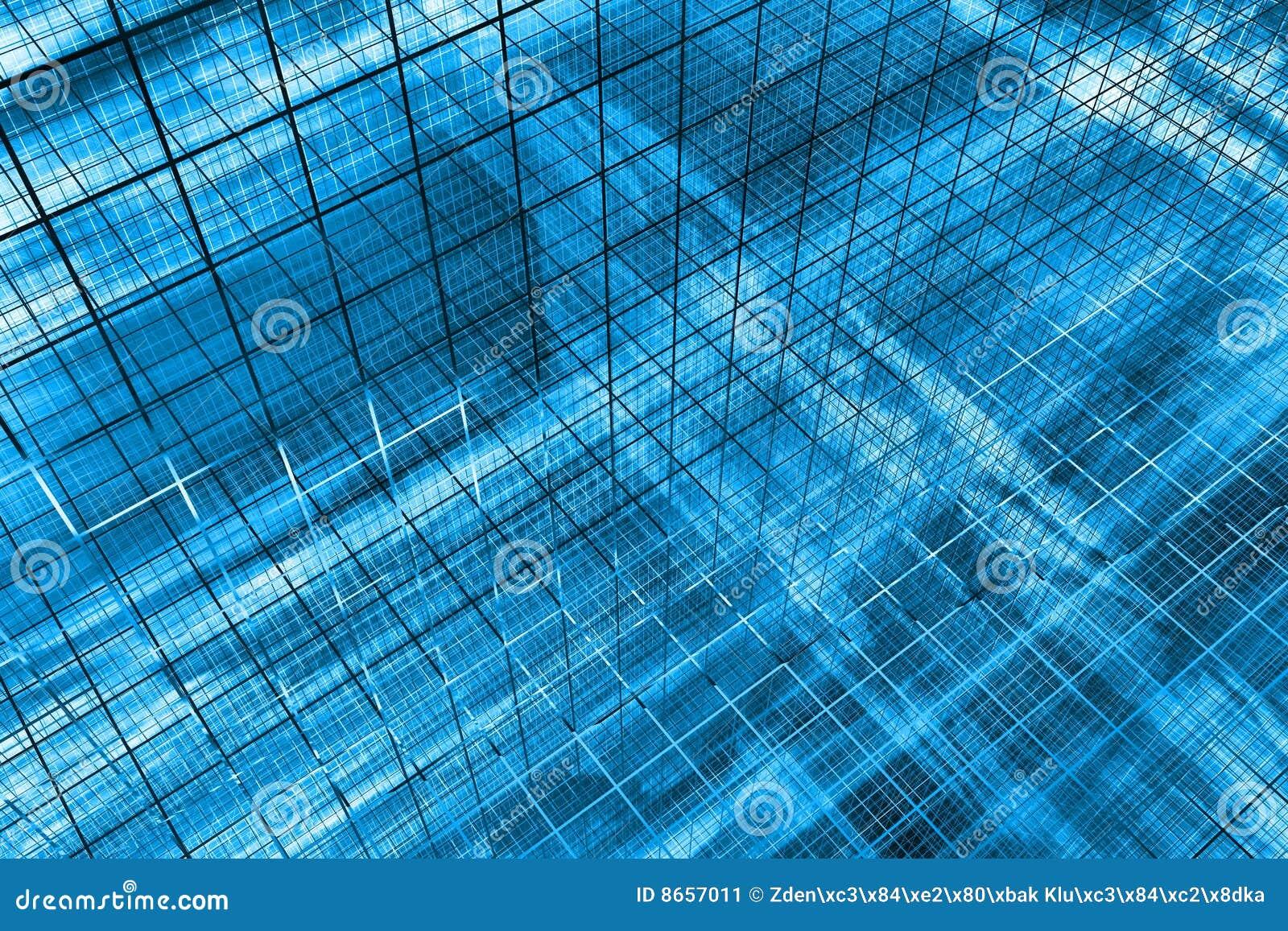 Bleu du fond 3d