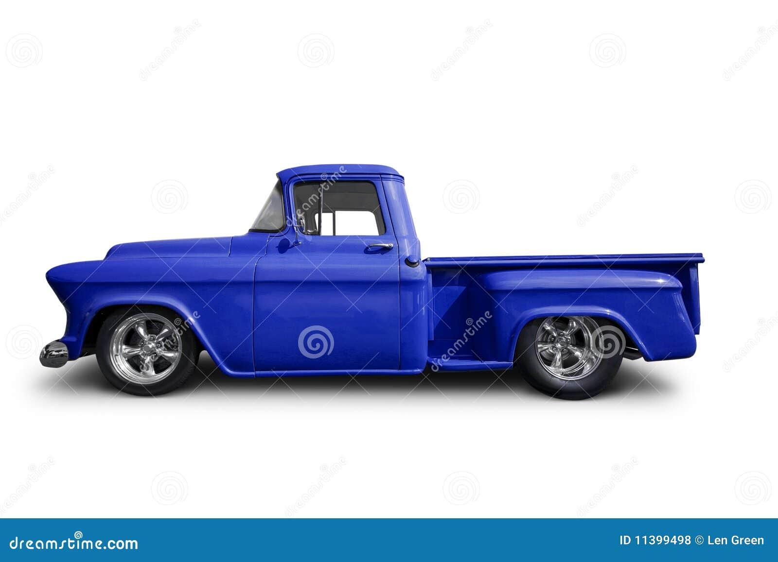 Bleu prenez le camion